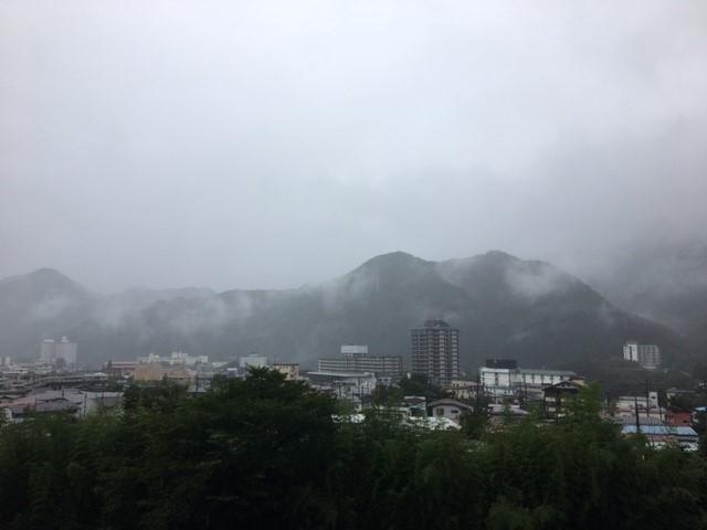 今朝の鬼怒川温泉